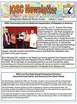 IOSC Newsletter V1-I4-1