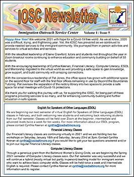 IOSC Newsletter V1-I5-1
